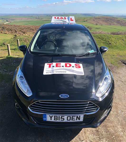 The Edwards Driving School learner car